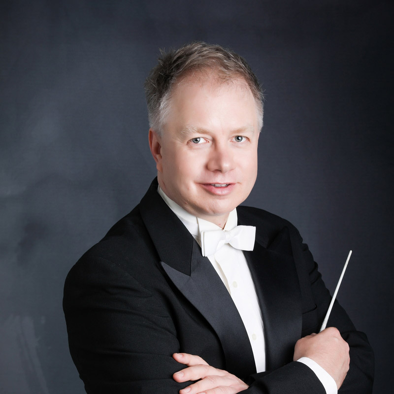 Reg Quiring - Conductor & Artistic Director of the Coquitlam Youth Orchestra